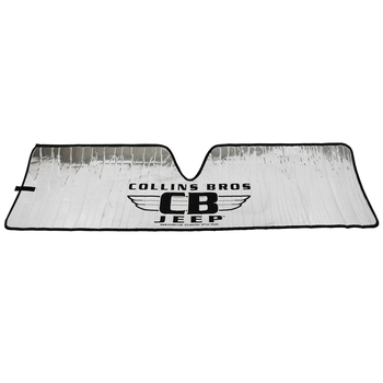 "'07-Current JK ""CollinsBros Jeep"" Logo Heat Shield"