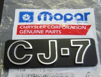 '76-'86 CJ-7 Emblem