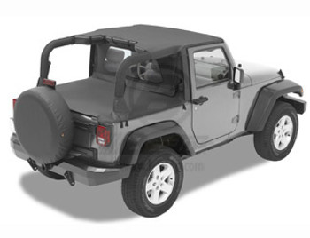 '07-Current JK 2dr Duster Deck Cover w/ factory soft top