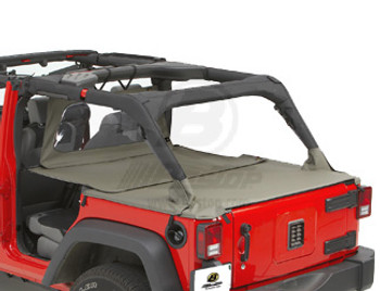 '07-Current JKU Duster Deck Cover w/factory soft top