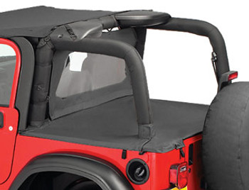 '03-'06 TJ Duster Deck Cover (factory soft top folded down)