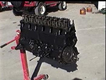 '76-'90 CJ/YJ Reman. 4.2L 258 6-cyl Long Block Motor