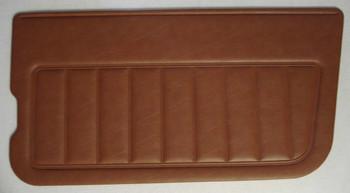 '81-'86 CJ Nutmeg Hard Door Panels (pair)