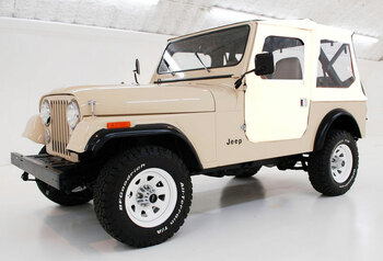 '76-'86 CJ7 Heritage Tigertop w/doors & clear windows