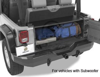 Instatrunk™ for Wrangler & Wrangler Unlimited w/ subwoofer, 07-08