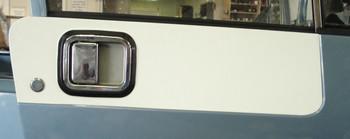 '81-'06 CJ/YJ/TJ Textured Door Decal Kit (White)