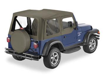 '03-'06 TJ Replace-a-Top w/upper door skins & clear windows
