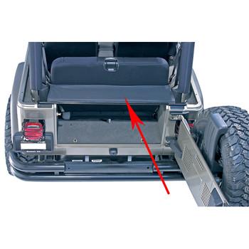 Fits Jeep Wrangler YJ TJ 87-06 Black Frame Crossmember Rear   52058121AB