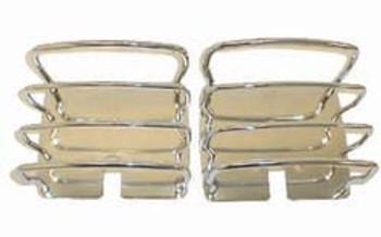 '76-'06 CJ/YJ/TJ/LJ Stainless Tail Light Guards
