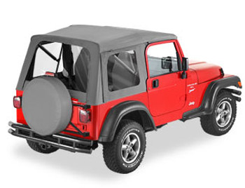 '97-'06 TJ Supertop w/clear windows w/o doors