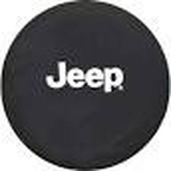 "JEEP Logo Tire Cover for 28-30"" Tires"
