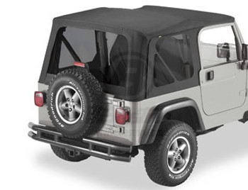"""03-'06 TJ Tinted Window Kit for Replace-a-Top & OEM Soft Top"