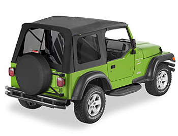 '97-'06 TJ Tinted Window Kit for Supertop