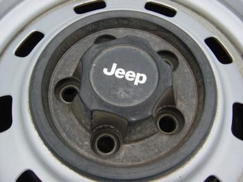 Used Base Steel Wheel Wenter Cap Black