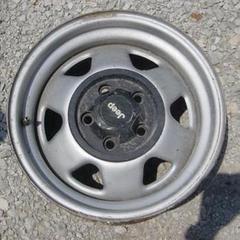 Optional Base Wheel for YJ/TJ
