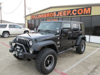 SOLD  2014 Black Mountain Conversions Jeep Wrangler Unlimited Stock# 248130