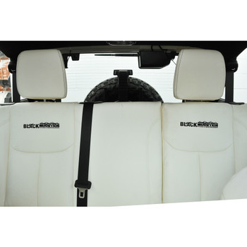 '07-Current White Leather Seat Covers