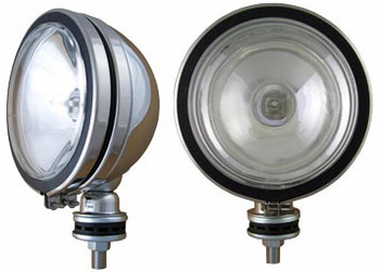 "6"" Stainless 130W Spot Light w/cover"