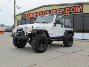 SOLD 2004 Jeep TJ Wrangler Rubicon Edition Stock# 767735