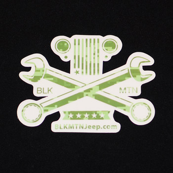 Cross Wrenches 4x3 Die Cut