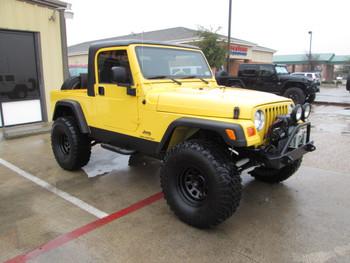 SOLD  2004 Jeep LJ Wrangler Unlimited Half Cab Conversion Stock# 796012