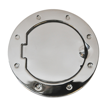 '07-Current JK Stainless Steel Non-Locking Fuel Door Cover