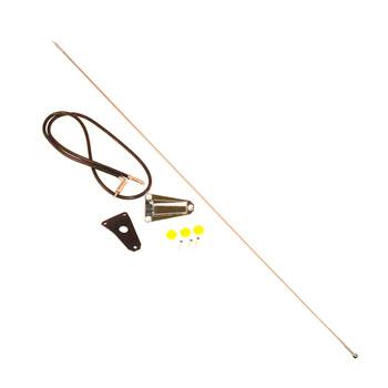 '76-'95 CJ/YJ Chrome Antenna Kit