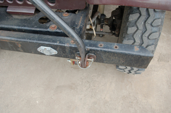 Used CJ towbar setup