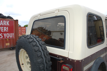 Used Factory CJ7 hardtop