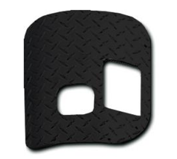 '80-'86 CJ Floor Shifter Cover Plate (6cyl w/SR4, T4/5, D300)