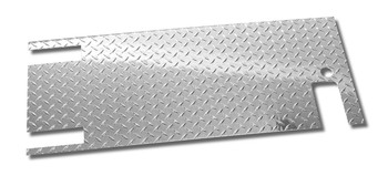 '87-'95 YJ Diamond Plate Tailgate Cover (polished)