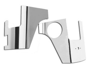 '07-Current JKU Polished Aluminum Rear Corners