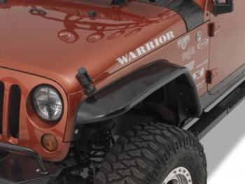 "'07-Current JK 10"" Front Tube Fender Flares"