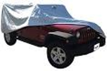 '07-Current JK Unlimited Full Jeep Cover (Gray)