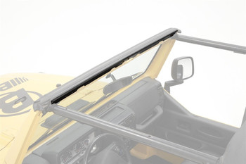 '97-'02 TJ Bikini Top Windshield Channel (drill-in style)