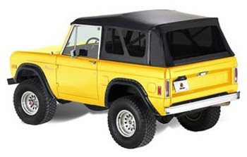'66-'77 Ford Early Bronco Supertop w/o doors (Black Crush)