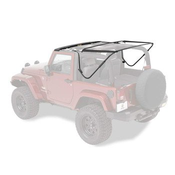'07-Current JK 2dr Factory Style Soft Top Bow Kit