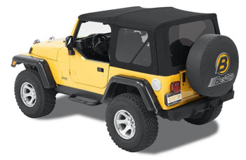 '97-'06 TJ Acrylic Replace-a-Top, tinted windows, w/o upper door skins