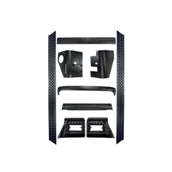 '97-'06 TJ 9pc Complete Body Armor Kit