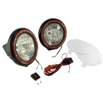 """7"""" Round HID Off-Road Lights w/Wiring Harness (pair)"""