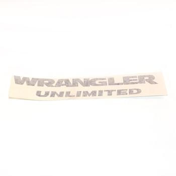 """JK """"Wrangler Unlimited"""" Decal (Black)"""
