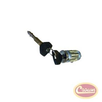 '98-'04 TJ Coded Ignition Cylinder w/Key