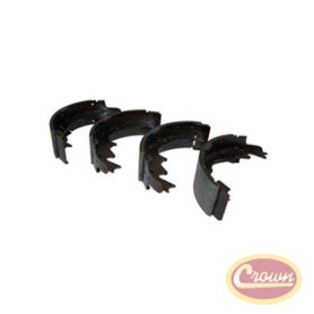 "'00-'06 TJ 9""x2.5"" Rear Brake Shoes"