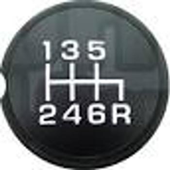 Yellow 6 Speed Shift Pattern - Dots 20n Green Metal Flake with M16 x 1.5 Insert American Shifter 283973 Shift Knob