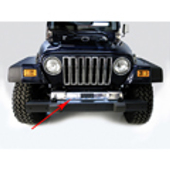 '97-'06 TJ Stainless Front Frame Cover