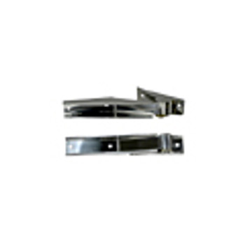 '97-'06 TJ Stainless Tailgate Hinges (Pair)