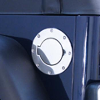 '97-'06 TJ/LJ Stainless Non-Locking Fuel Door