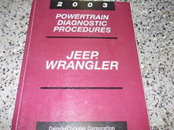 2003 TJ Powertrain Diagnosis Repair Manual