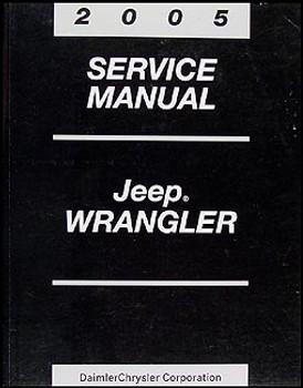 2005 TJ Service Manual