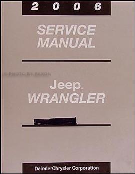 2006 TJ Service Manual